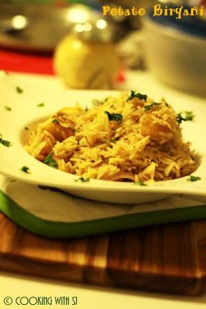 Potato Biryani