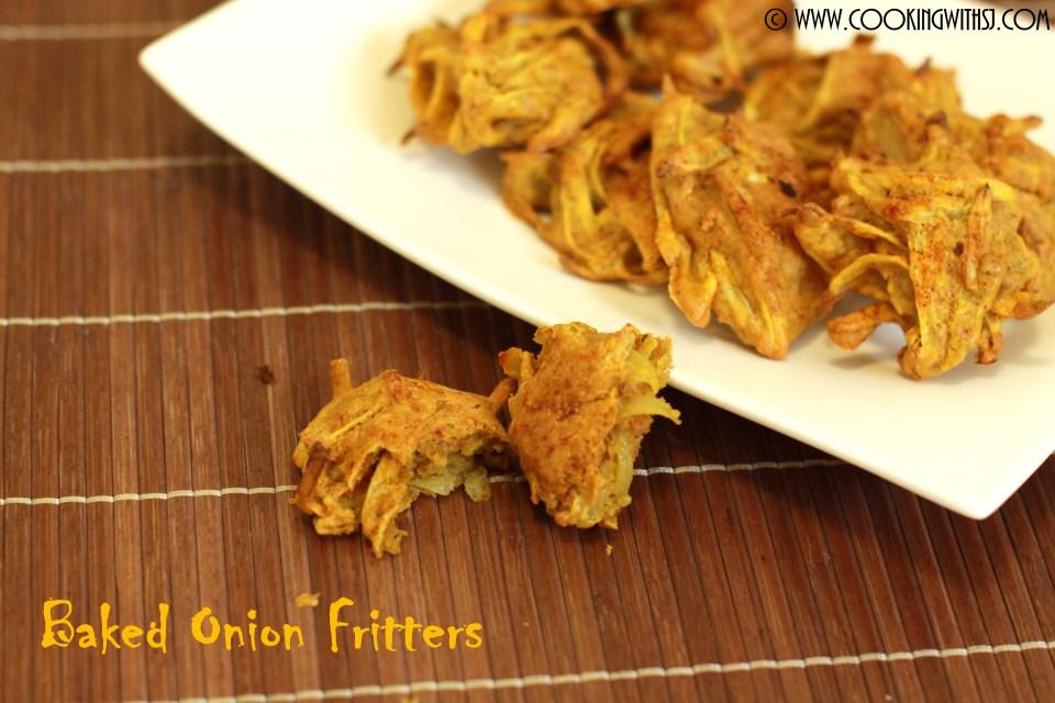 baked onion pakora