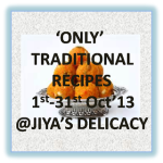 only traditional recipes