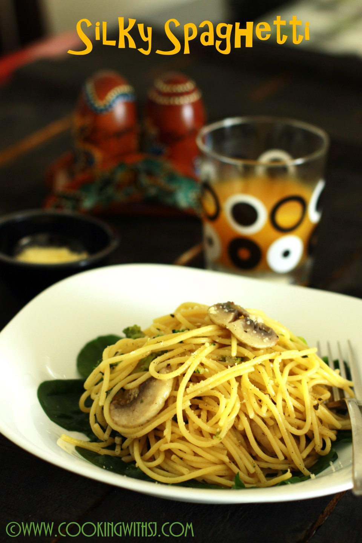 parmesan spaghetti