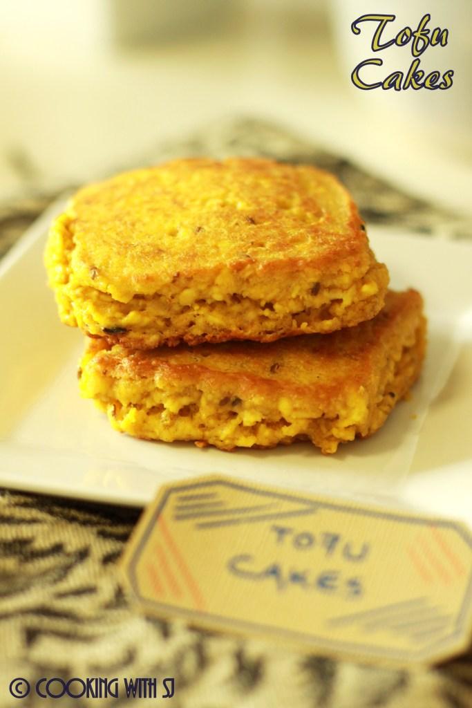 tofu cakes