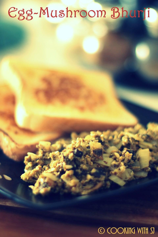 egg mushroom bhurji