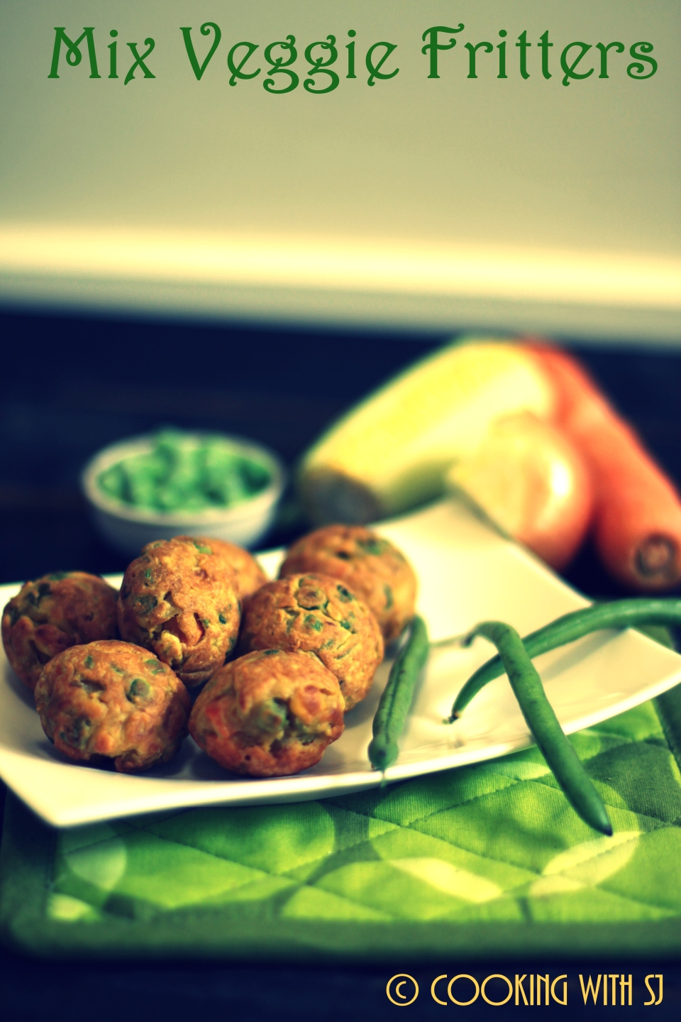 Mix veggie Fritters