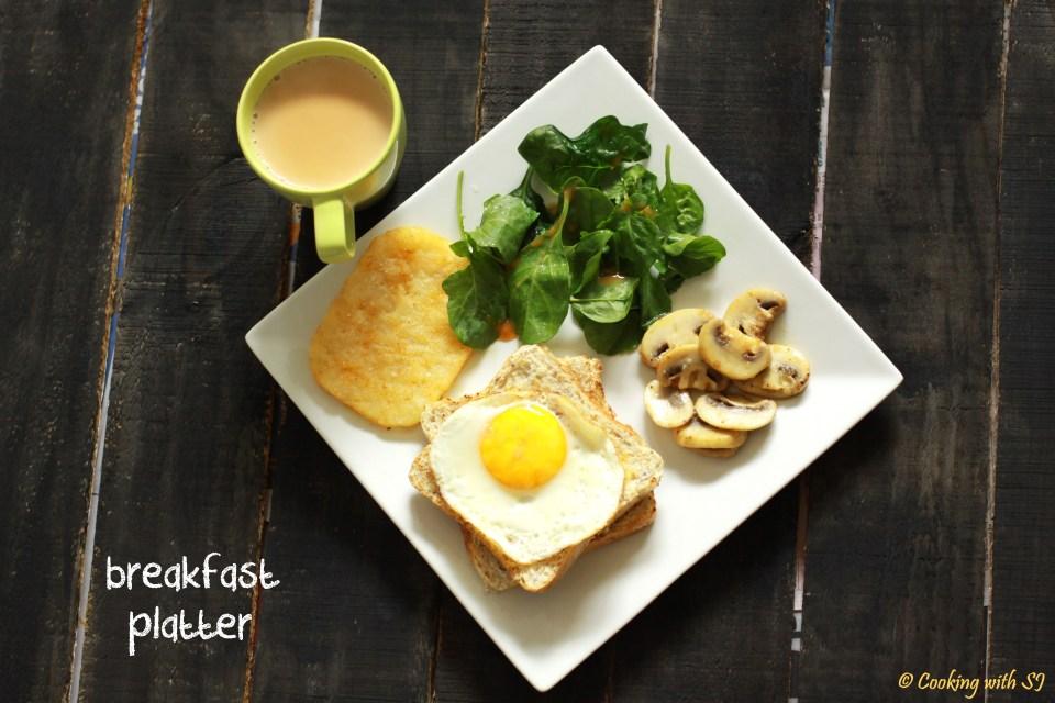 breakfast platter