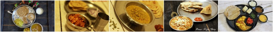 thaali menus