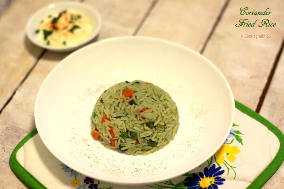 coriander rice 2