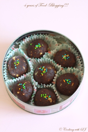 choco-orange truffles