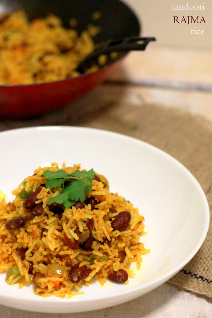 tandoori rajma rice1