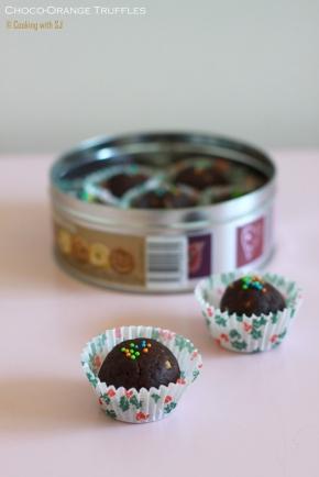 chocoorange truffles