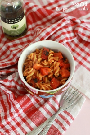 roasted bellpepper pasta