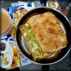 Egg-Avocado Sandwich